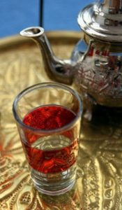 Arabic tea glass