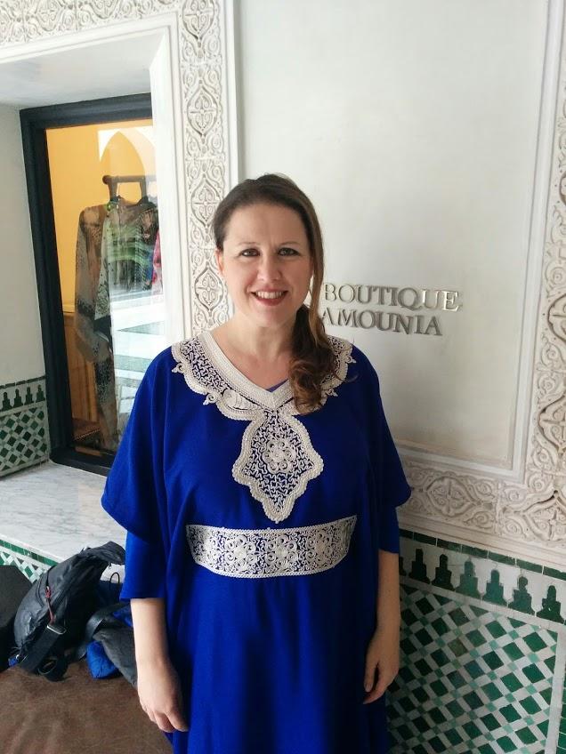 Moroccan gandoura