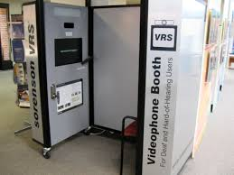 videophone booth