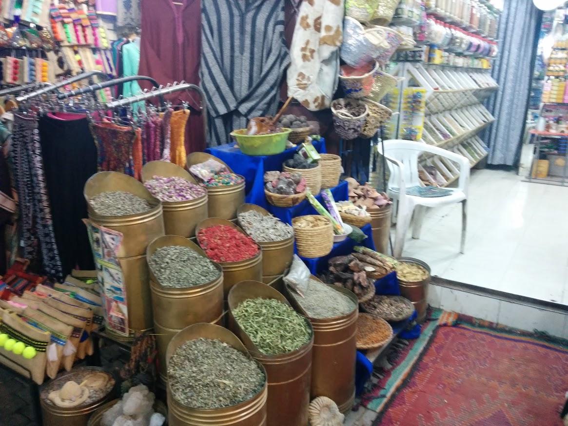 Moroccan herbs