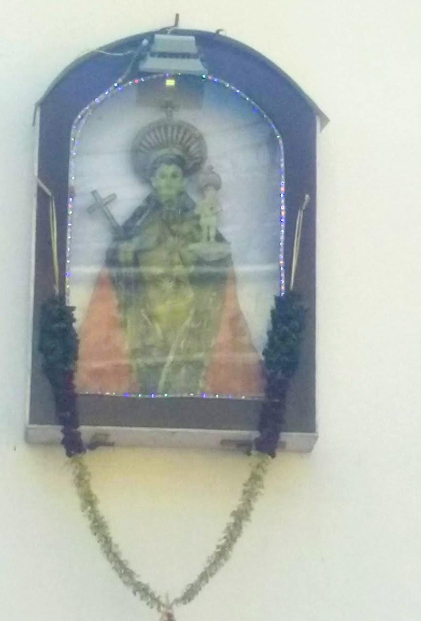 Hindu Catholic symbol Pondicherry