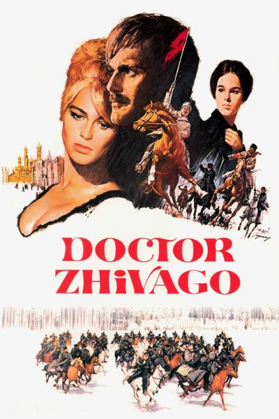 Doctor Zhivago movie poster