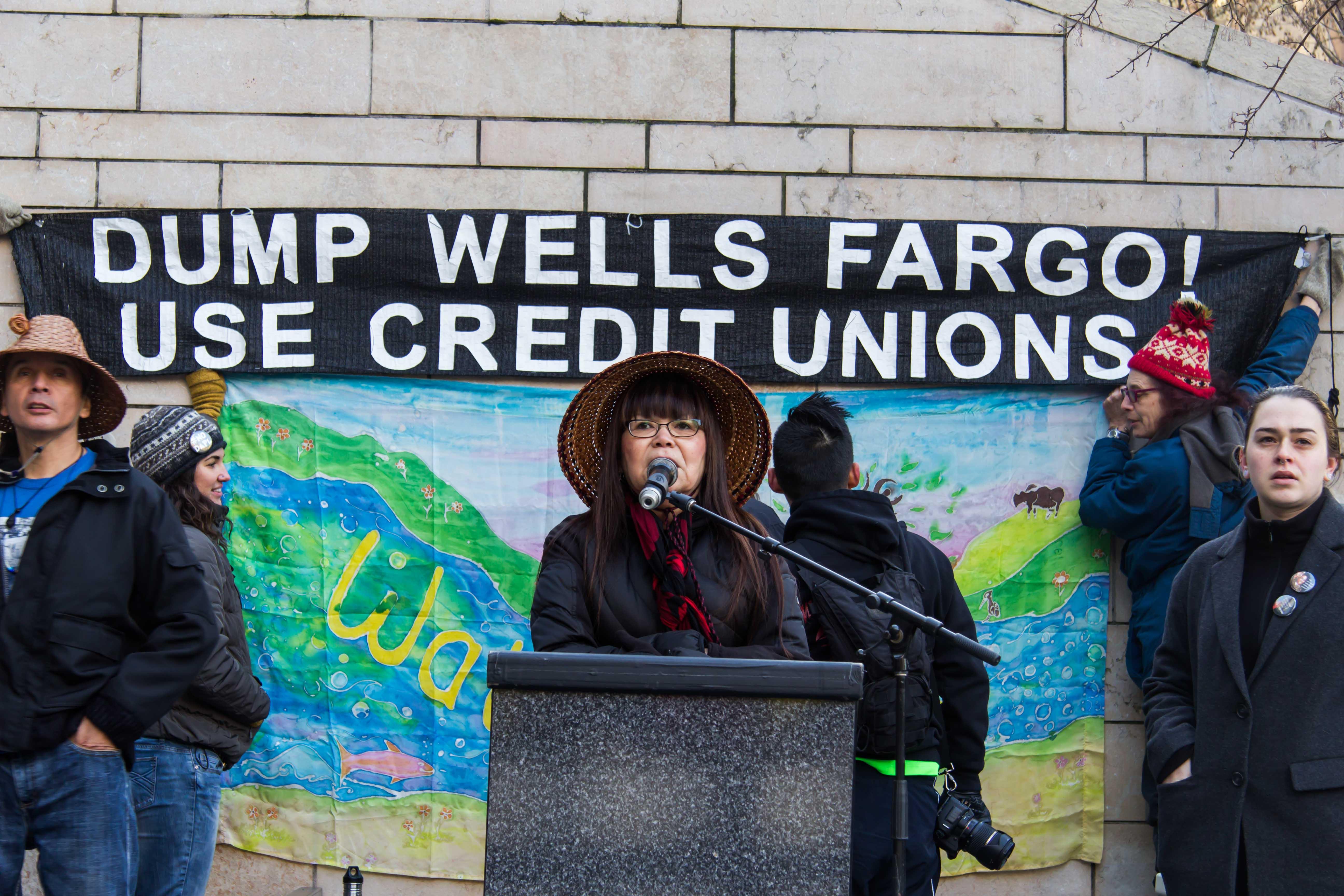DAPL, Wells Fargo boycott
